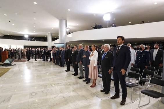 Presidente participa de Ação de Graças no Palácio do Planalto