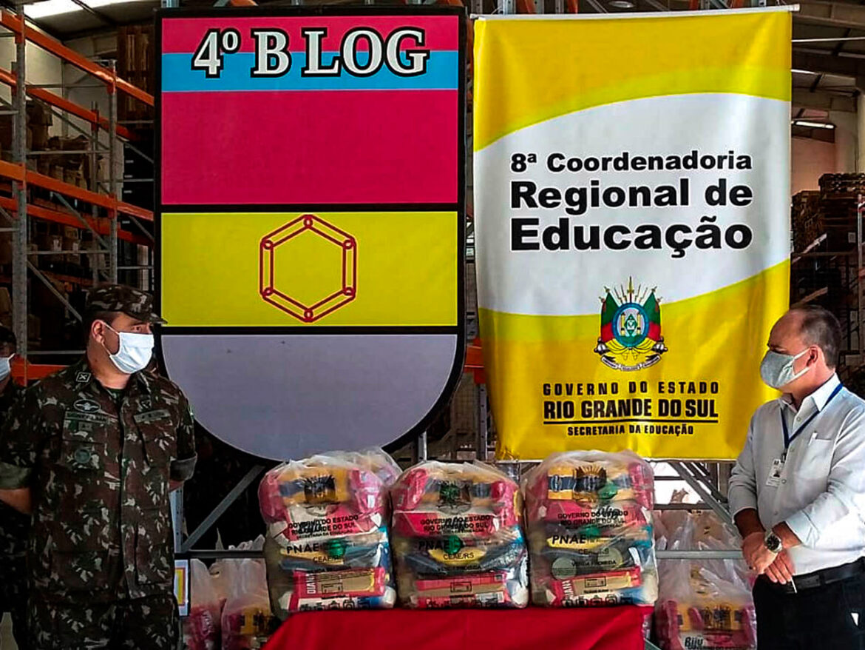 Batalhão é homenageado pela 8ª Coordenadoria Regional de Educação do Rio Grande do Sul