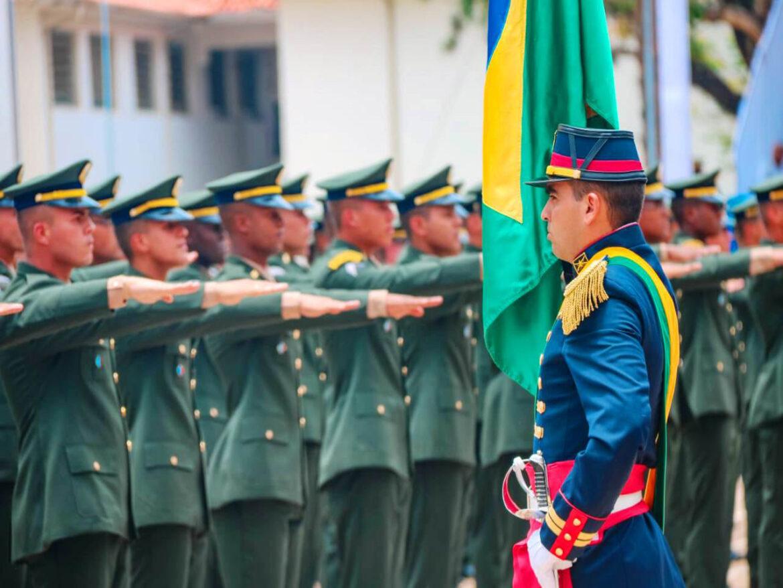 Solenidade de diplomação do Curso de Formação e Graduação de Sargentos 2020 da Escola de Sargentos das Armas