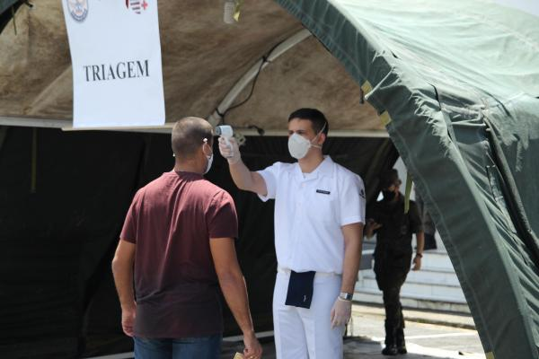 Alunos da Escola de Especialistas de Aeronáutica (EEAR) retornam às aulas após recesso