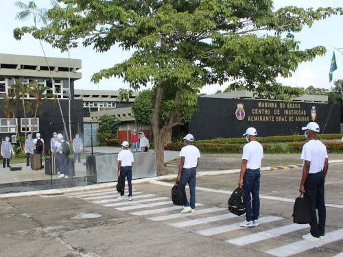 CIABA inicia período de adaptação 2021 da Escola de Formação de Oficiais da Marinha Mercante