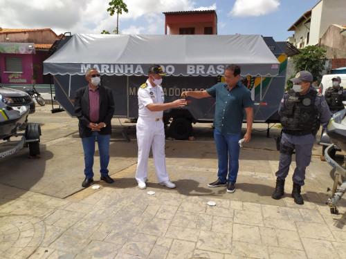 Capitania dos Portos do Maranhão recebe motos aquáticas para aumentar fiscalização