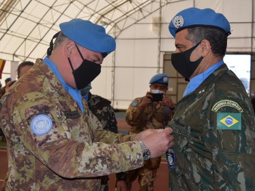 Cerimônia de Transferência de Autoridade marca a conclusão da participação brasileira no Comando da FTM-UNIFIL