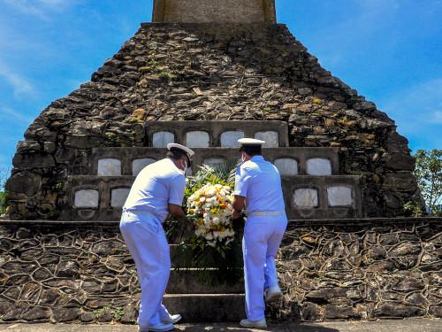 """Colégio Naval realiza cerimônia em homenagem aos náufragos do Encouraçado """"Aquidabã"""""""