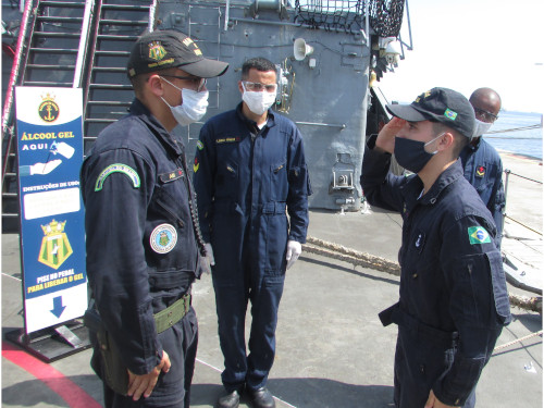 """Embarques movimentam meios da Esquadra a um dia do início da """"Aspirantex/2021"""""""