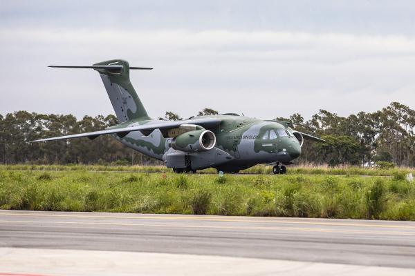 FAB realiza apronto operacional da participação do KC-390 no Exercício Culminating