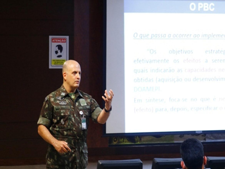 Reunião com o Grupo de Estudos e Planejamento Estratégico do Exército