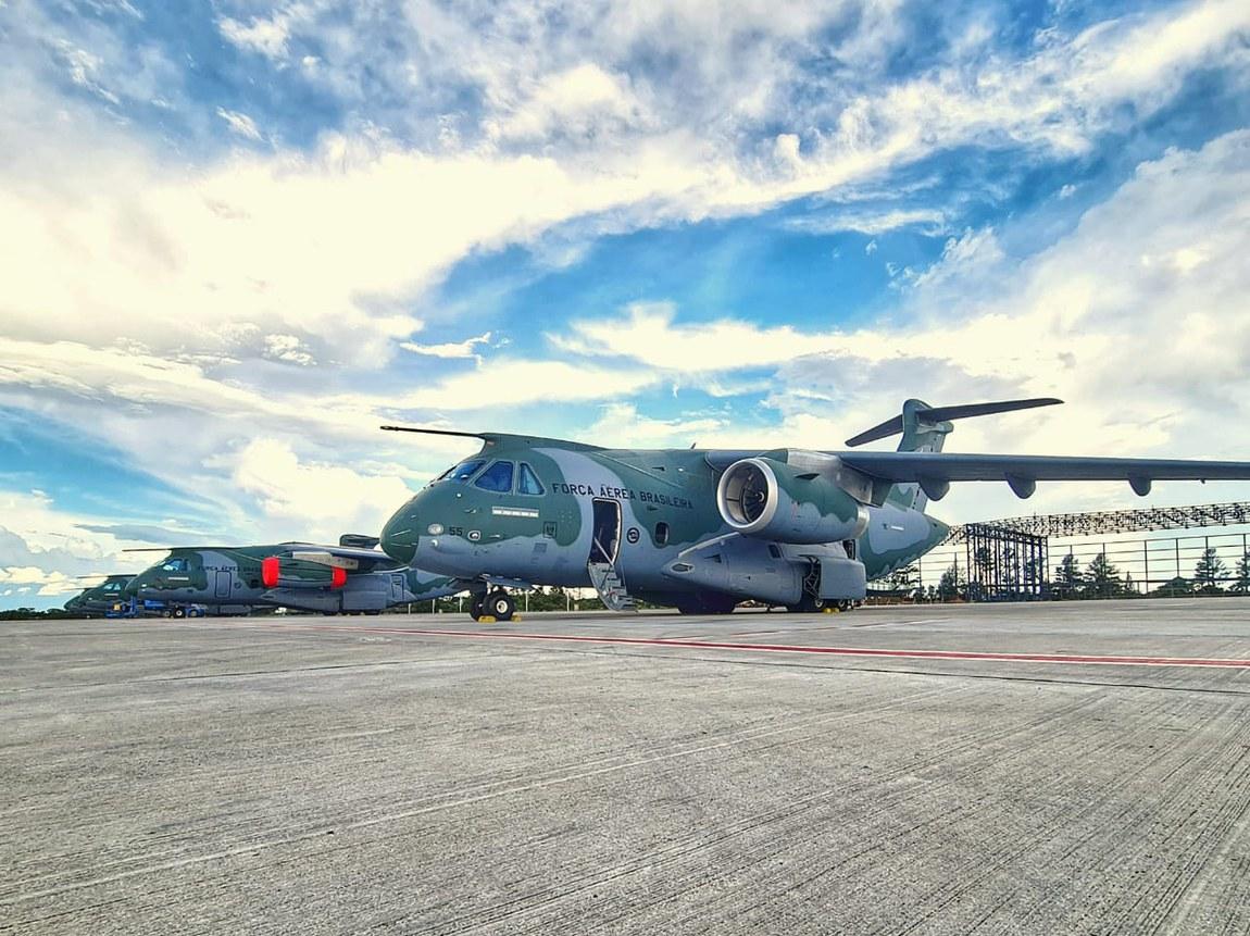KC-390 Millennium decola rumo aos EUA para participar da Operação Culminating