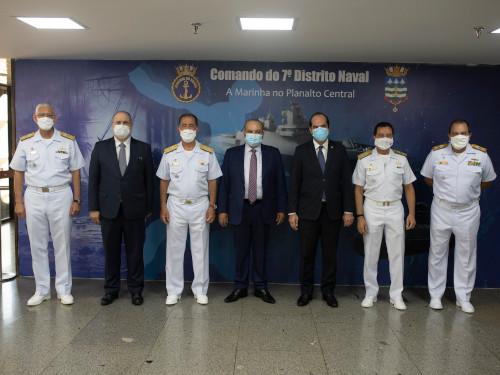 Marinha do Brasil e Governo do Distrito Federal assinam Termo de Compromisso