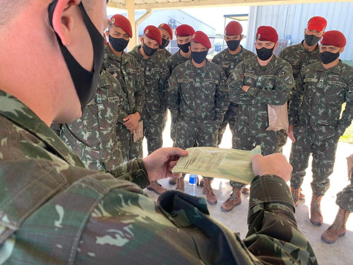 Militares brasileiros preparam-se para Operação Culminating em solo norte-americano