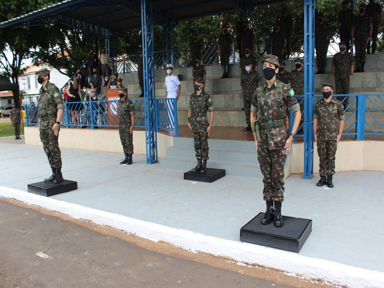Passagem de chefia da Comissão Regional de Obras da 9ª Região Militar