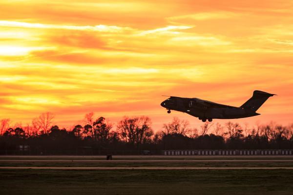 "Aeronave KC-390 Millennium participa do Exercício Operacional ""Culminating"" nos EUA"