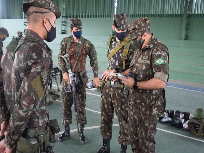 Batalhão realiza exercício de Apronto Operacional