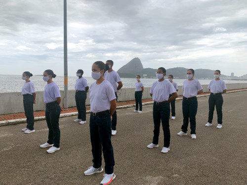 Escola Naval recebe aprovados do concurso público