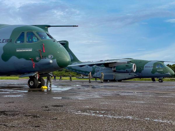 FAB ultrapassa 1000 horas de voo em missões de apoio à região Norte