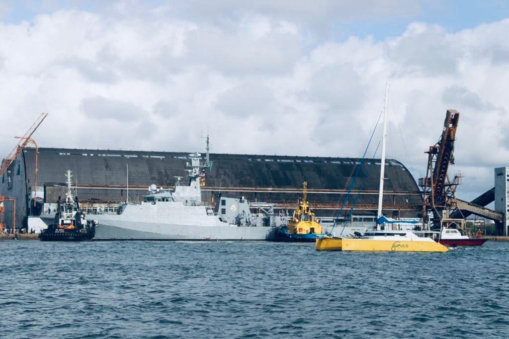 Marinha e Polícia Federal realizam ações de cooperação internacional para interceptar embarcação carregada com cocaína
