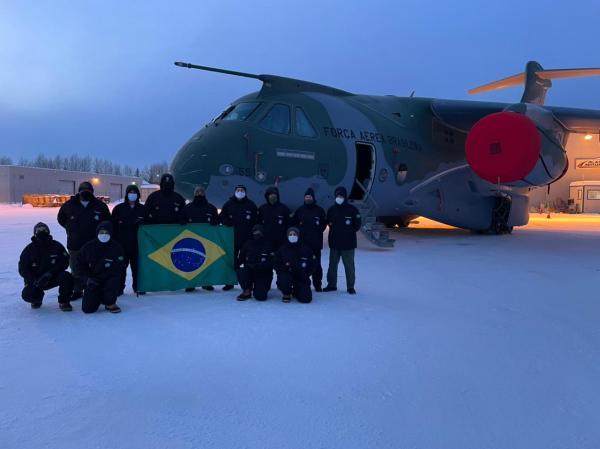 KC-390 Millennium realiza testes no frio extremo do Alasca