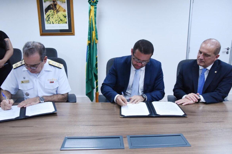 Marinha e Ministério da Cidadania assinam Protocolo de Intenções