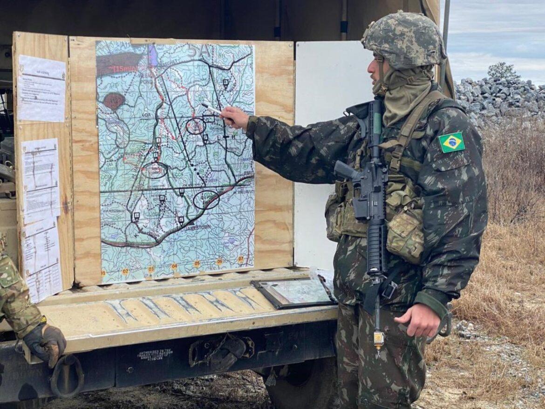 Militar brasileiro se destaca em curso para oficiais de Cavalaria nos Estados Unidos