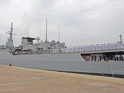 """Navio-Escola """"Brasil"""" regressa da XXXIV Viagem de Instrução de Guardas-Marinha"""