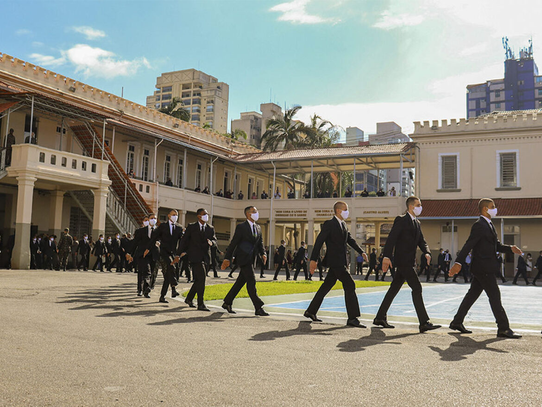 Cerimônia marca início do Curso de Formação de Oficiais da Reserva em São Paulo