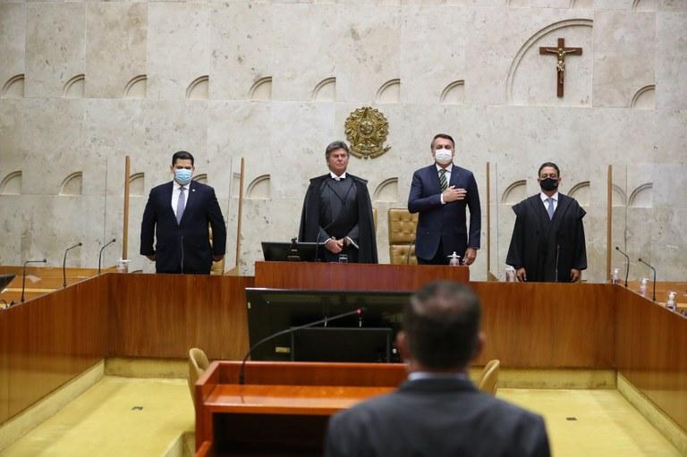 Presidente participa de Sessão Solene de abertura do Ano Judiciário de 2021