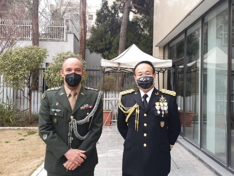 Adido Militar do Irã participa das comemorações pelo Dia das Forças de Defesa do Japão