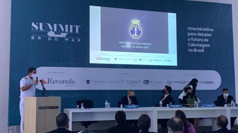 "Autoridade Marítima Brasileira participa do ""Summit BR do Mar"