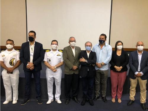 Capitania dos Portos do Rio de Janeiro realiza reunião para promover o ordenamento do tráfego aquaviário na Costa