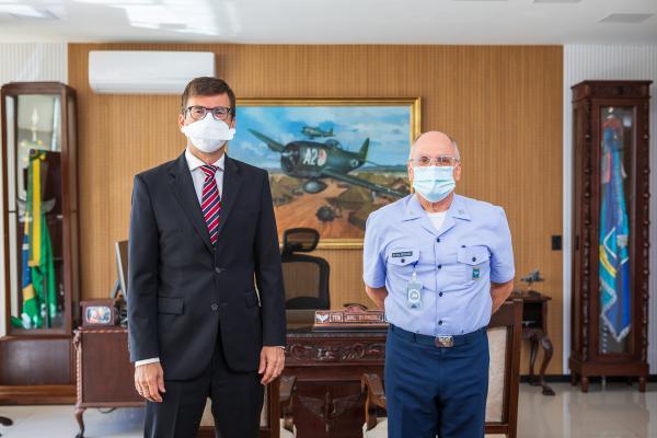Comandante da Aeronáutica recebe Embaixador da Alemanha