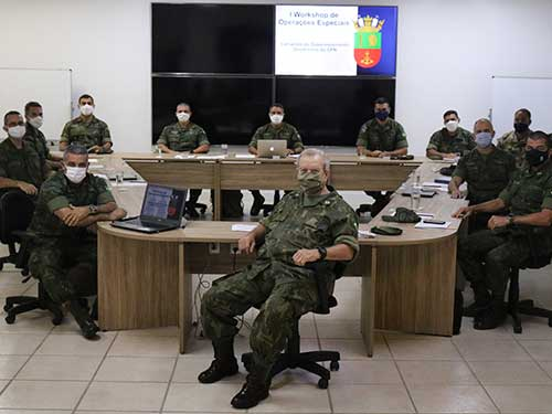 Comando do Desenvolvimento Doutrinário do Corpo de Fuzileiros Navais promove I Workshop de Operações Especiais
