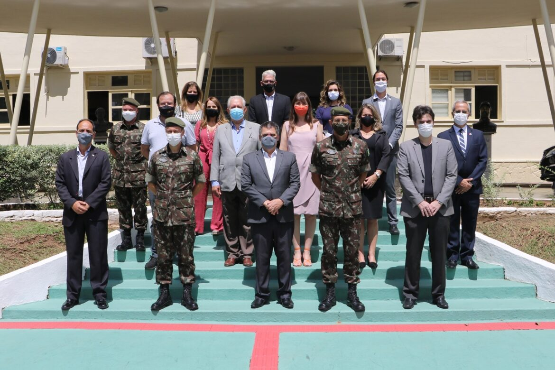 CPOR/CM-BH recebe visita do Vice-Governador do estado de Minas Gerais