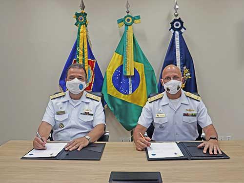 Escola Superior de Guerra e a Escola Naval firmam Acordo de Cooperação Acadêmica