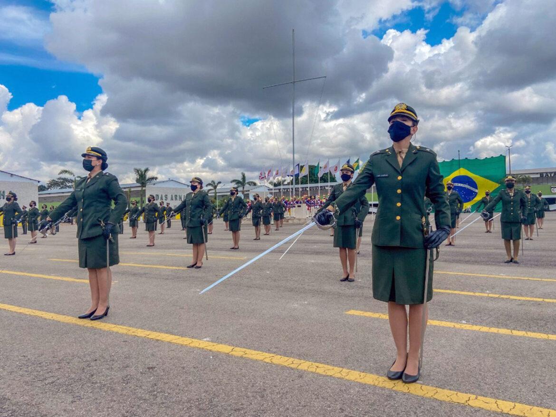 No Batalhão da Guarda Presidencial, aspirantes concluem a 1ª fase do Estágio de Adaptação ao Serviço
