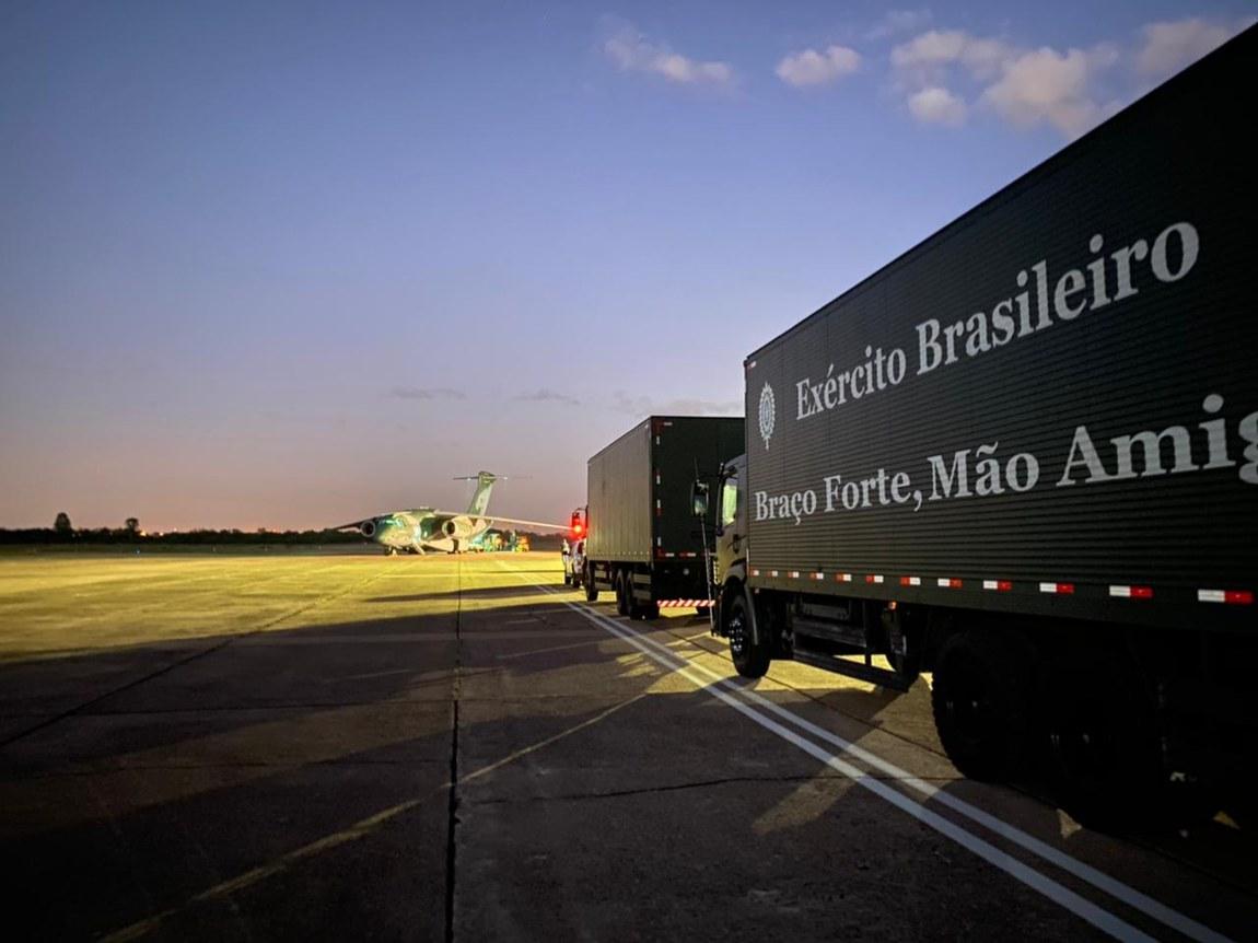 Hospital de Campanha das Forças Armadas viaja mais de 3 mil km para atender a população do Rio Grande do Sul