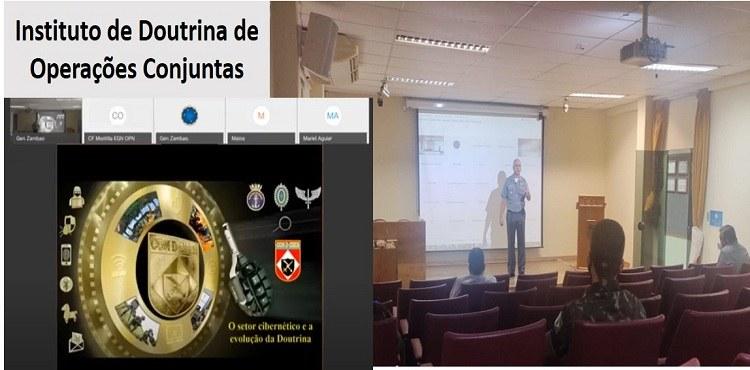 IDOC promove palestra de atualização na Doutrina para Defesa Cibernética