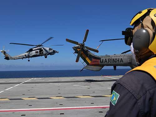 """Marinha dá início à Operação """"ADEREX-Aeronaval I/2021"""""""
