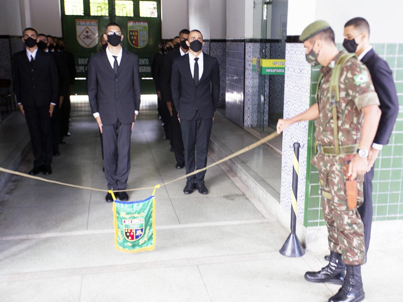 Matrícula e Incorporação dos alunos do Núcleo de Preparação de Oficiais da Reserva do Batalhão dos Paraibanos