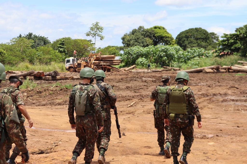Operação Verde Brasil 2 prossegue com inspeções e aplicação de multas
