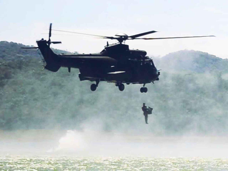 Batalhão realiza adestramento de Força de Prontidão da Brigada Aeromóvel