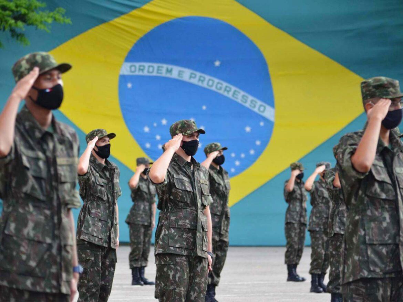 Regimento Ipiranga incorpora novos recrutas para 2021