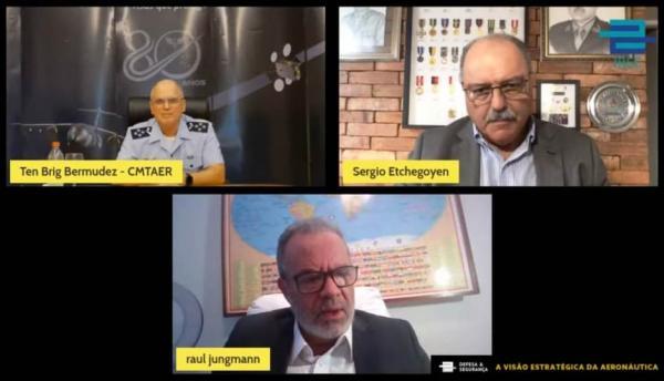 Tenente-Brigadeiro Bermudez fala sobre a visão estratégica da Aeronáutica