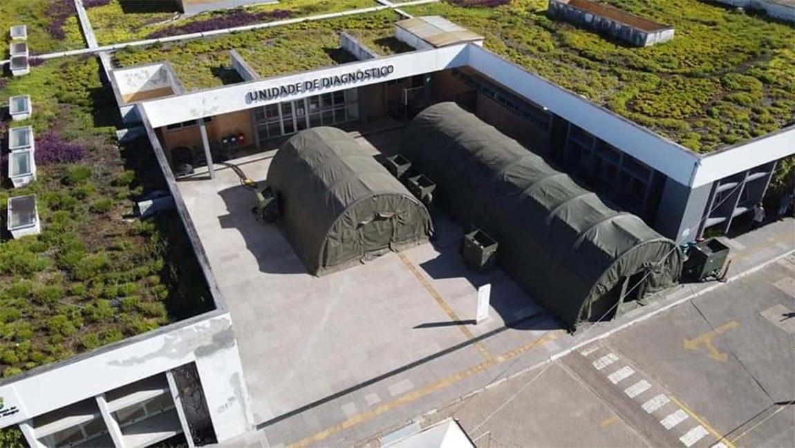 Usina de oxigênio, gerador e hospital de campanha são entregues durante Operação Covid-19