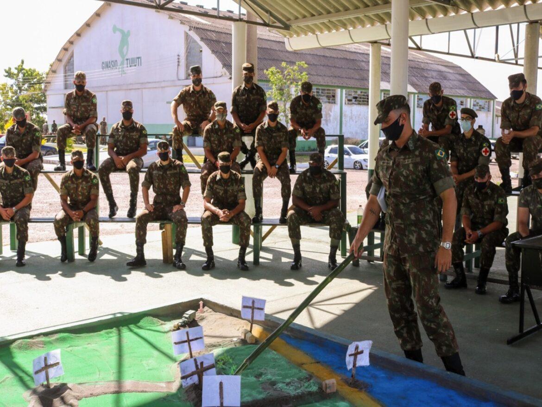 Exército Brasileiro realiza operação na faixa de fronteira com o Uruguai