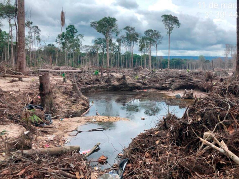 Exército apoia desativação de garimpos ilegais em Roraima